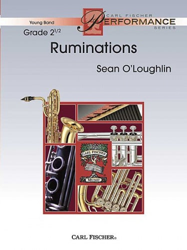 O'Loughlin: Ruminations (Concert Band) Score & Parts