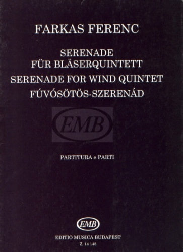 Farkas: Serenade for Wind Quintet (Score & Parts)
