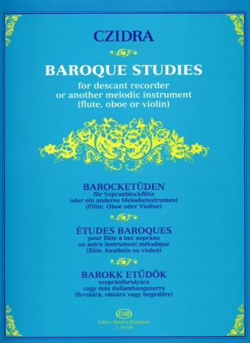 Baroque Studies for Descant Recorder, Ed. László Czidra