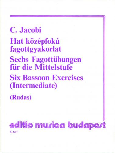 Carl Jacobi: Six Bassoon Exercises (Intermediate)