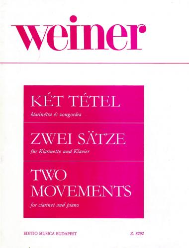 Weiner: Two Movements (Clarinet & Piano)