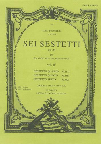 6 Sextets Op.23, Vol.2  SCORE ONLY