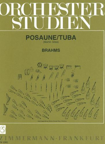 Trombone and Tuba Orchestral Studies - Brahms