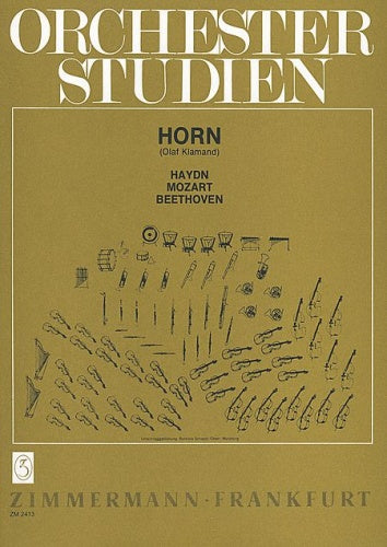Orchestral Studies for French Horn - Haydn, Mozart, Beethoven