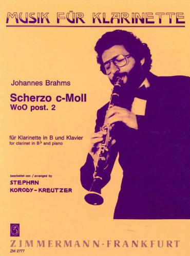 Johannes Brahms: Scherzo in C Minor WoO post. 2 (Clarinet & Piano)