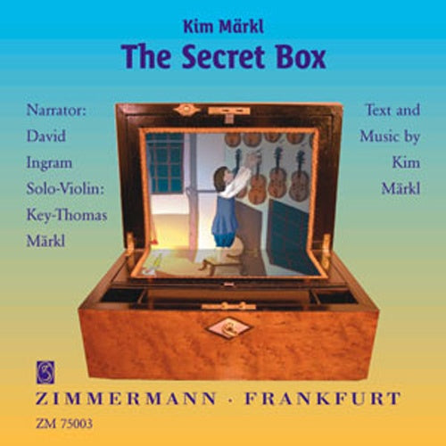 Märkl: The Secret Box (CD) English Edition