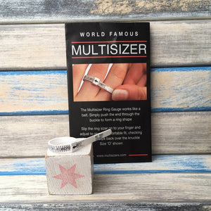 Multisizer - how to easily measure your ring size !