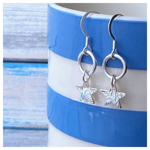 Blustery Days Star Drop Earrings