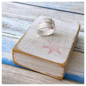 Make A Wish - Sterling Silver Ring