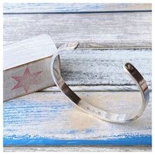 Load image into Gallery viewer, You Are Made Of Magic - Sterling Silver Cuff