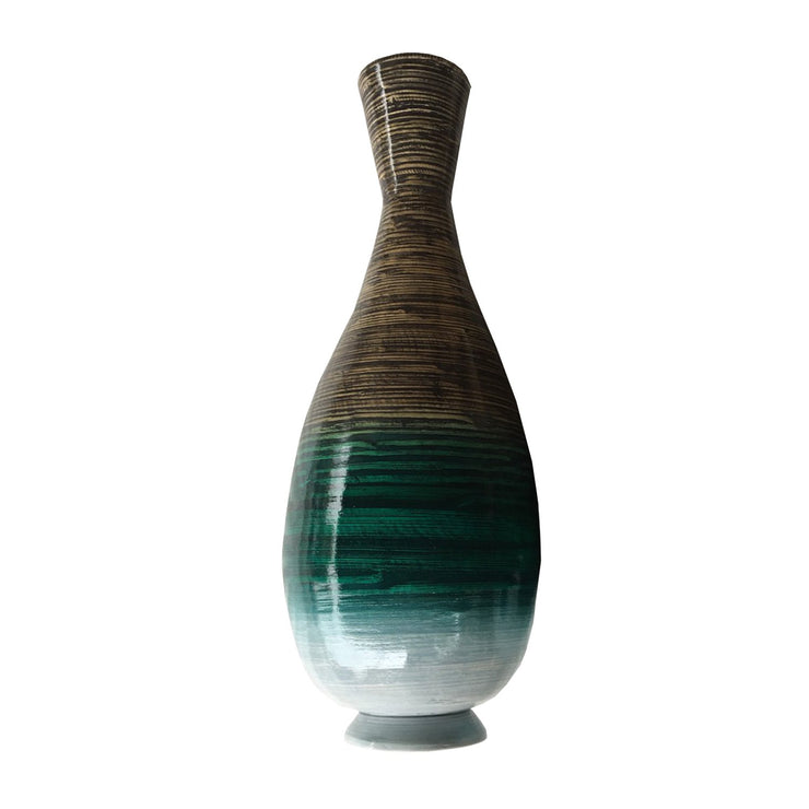 Gusto Bamboo Floor Vase - The Home Decor Lounge