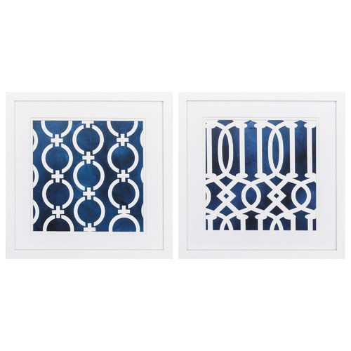 Matte Framed Wall Art (Set of 2) - The Home Decor Lounge