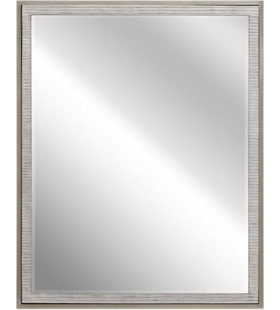 Millwright Rubbed Gray Mirror - The Home Decor Lounge