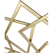 Quad Gold Wall Sculpture - The Home Decor Lounge