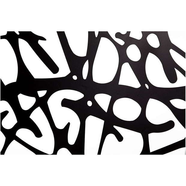 Motif Black Wall Sculpture