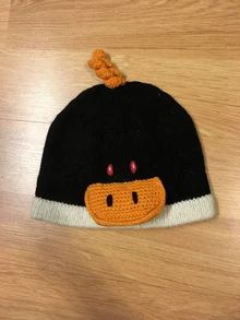 Alpaca Knitted Hats for Kids - Penguin - Homunculus
