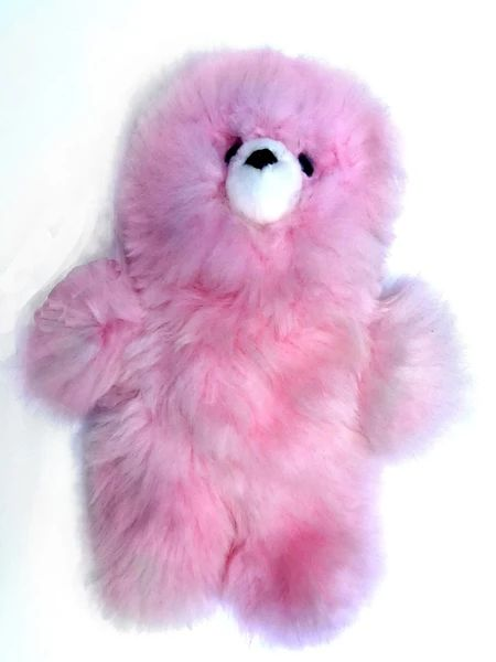Alpaca Stuffed Toy - Pink Bear