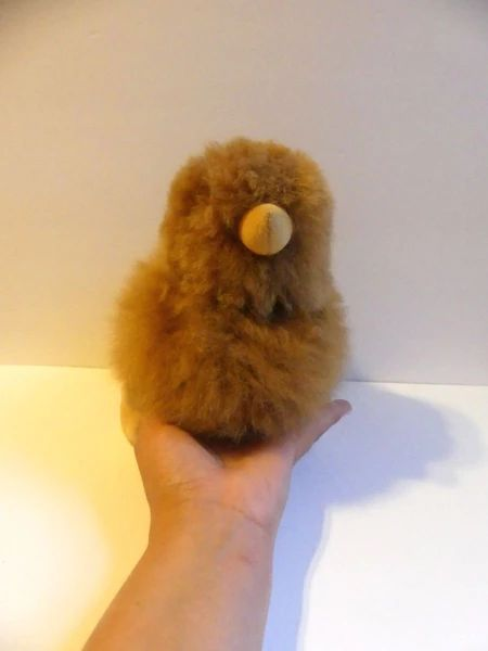 Alpaca Stuffed Toy - Brown Chick - Homunculus