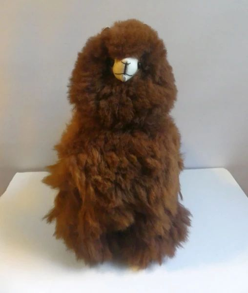 Alpaca Stuffed Toy - Brown Alpaca - Homunculus