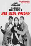 His Girl Friday (B&W, 1940)  92 minutes - Homunculus