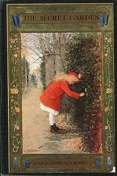 """The Secret Garden"" by Frances Hodgson Burnett (Nook / ePub Edition) - Preview Available - Homunculus"
