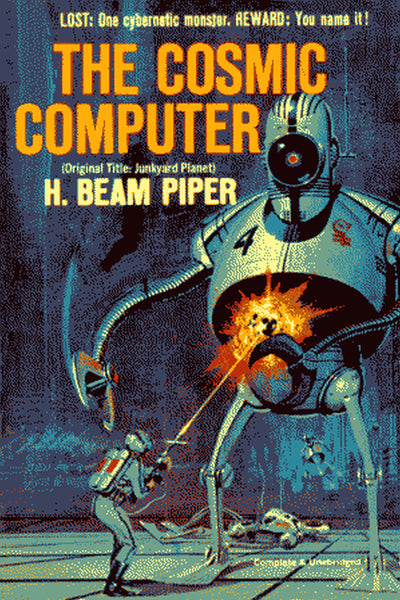 """The Cosmic Computer"" by H. Beam Piper (Pdf Edition) - Preview Available - Homunculus"