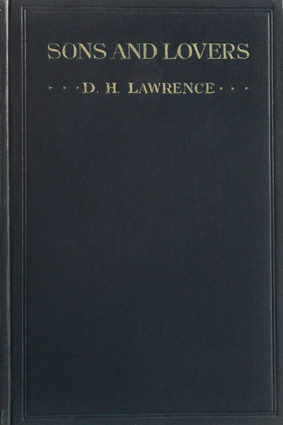 """Sons and Lovers"" by D. H. Lawrence (Kindle Edition) - Preview Available - Homunculus"