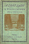 """A Lost Lady"" by Willa Cather (Pdf Edition) - Preview Available - Homunculus"