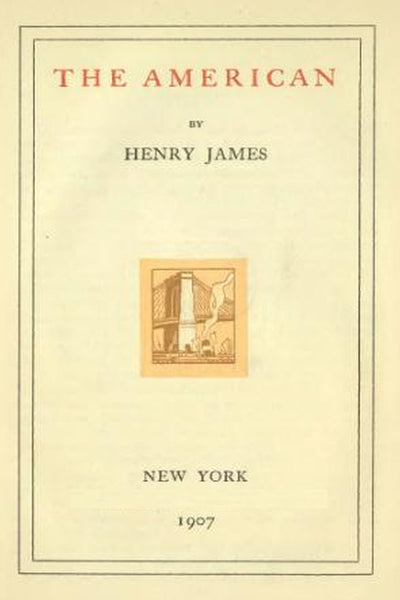 """The American"" by Henry James (Nook / ePub Edition) - Preview Available - Homunculus"