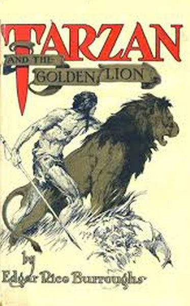 """Tarzan and the Golden Lion"" by Edgar Rice Burroughs (Nook / ePub Edition)- Preview Available - Homunculus"