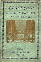 """A Lost Lady"" by Willa Cather (Kindle Edition) - Preview Available - Homunculus"