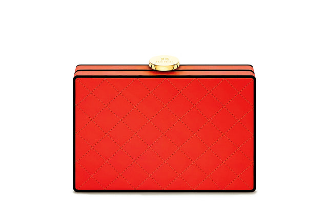 CLUTCH MONDIVA gesteppt red