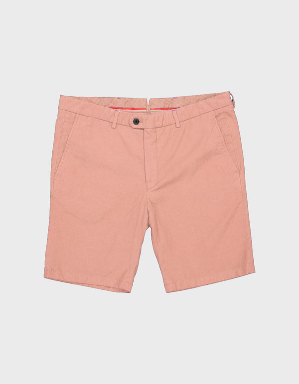 CANNET GARMENT DYED COTTON LINEN SHORTS
