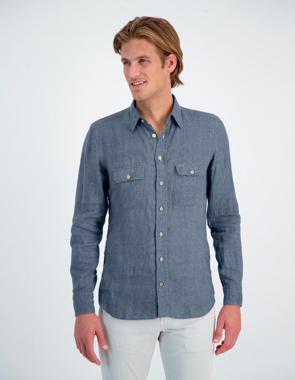 DURANGO LUXURY CHAMBRAY WORK SHIRT