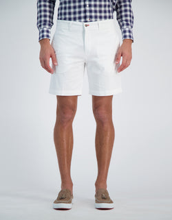 SOHO EMBLEMATIC COTTON STRETCH SHORT