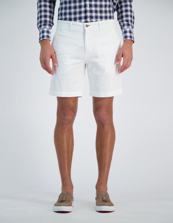 SOHO EMBLEMATIC COTTON STRETCH SHORTS