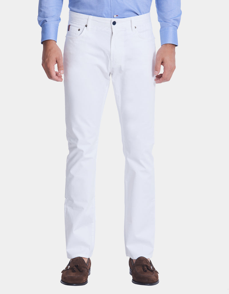 MILAN STRETCH COTTON 5 POCKET PANT
