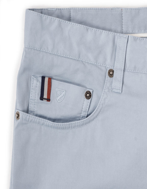 MILAN GARMENT DYE COTTON STRETCH 5 POCKET PANT