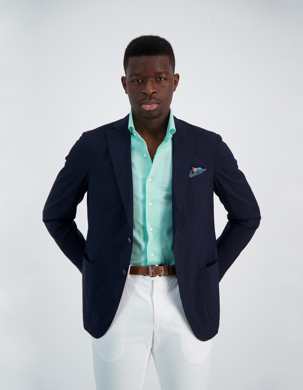 OCEAN LIGHTEST LORO PIANA TROPICAL WOOL BLAZER