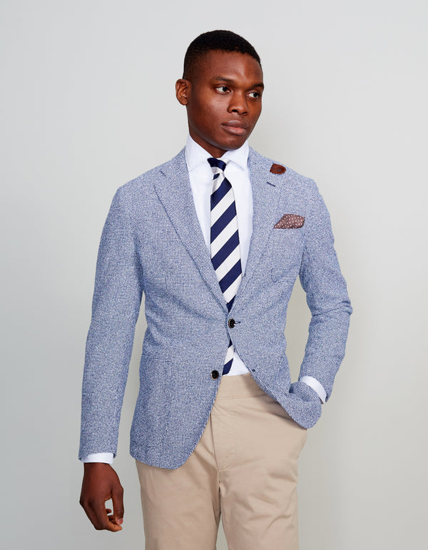 FREETIME MINI HOUNDSTOOTH BLAZER