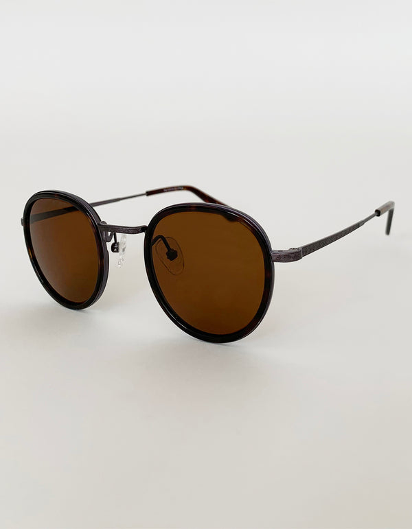 CITADEL WITH HANDMADE ITALIAN ACETATE FRAME SUNGLASSES