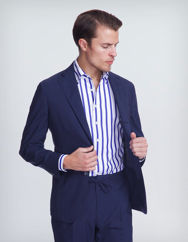 OCEAN LORO PIANA LIGHTEST WOOL BLAZER