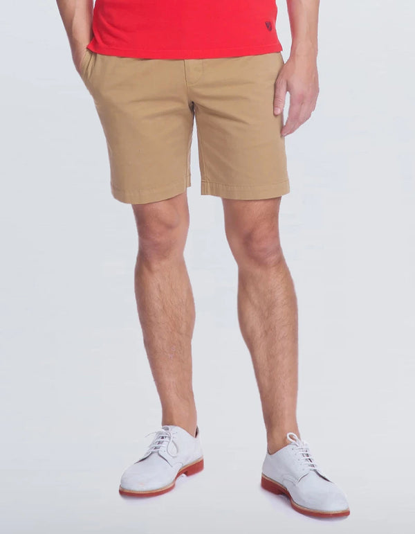 BOAT COTTON STRETCH GARMENT DYE SHORT