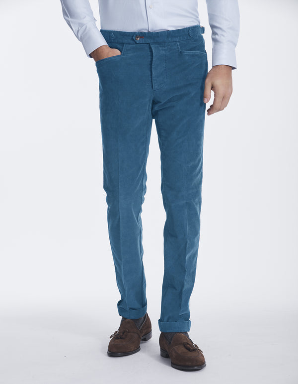 CORDUROY SIDE TAB PANTS