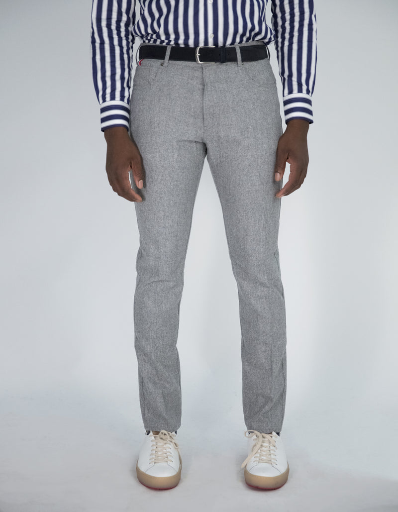MILAN WOOL FLANNEL PANTS