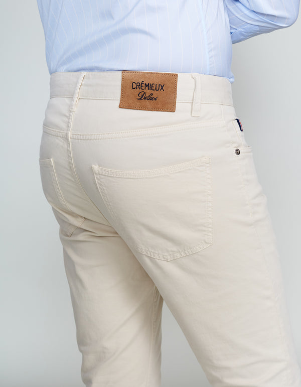 STONE MILAN COTTON STRETCH PANTS