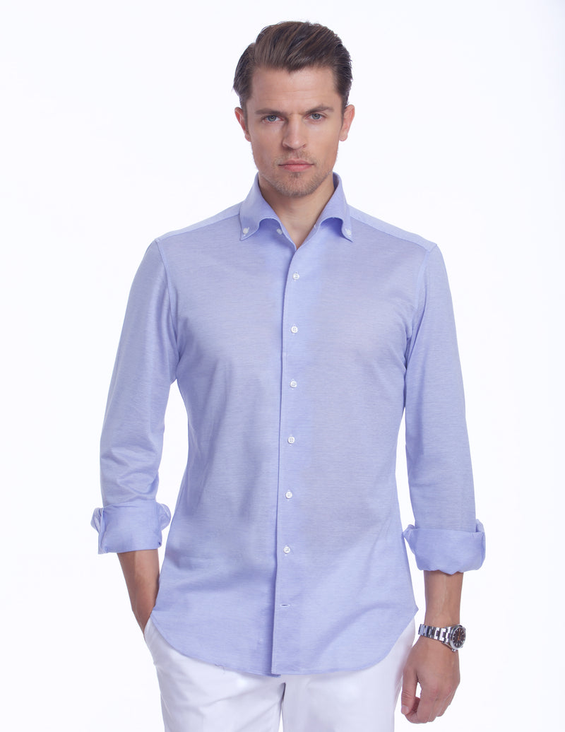 CUBA HANDMADE ONE-PIECE-BUTTON DOWN COLLAR SHIRT