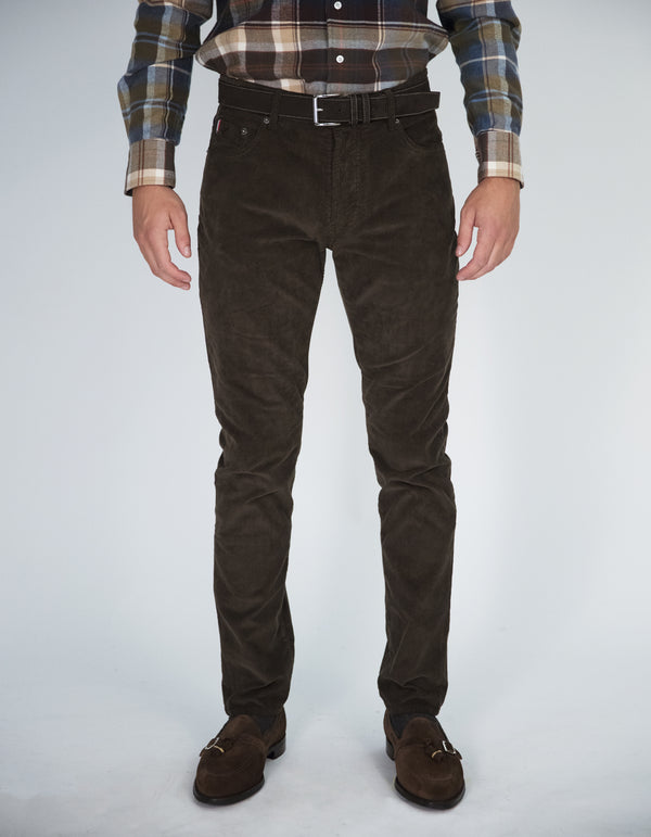GRIMAUD 5 POCKET CORDUROY PANTS