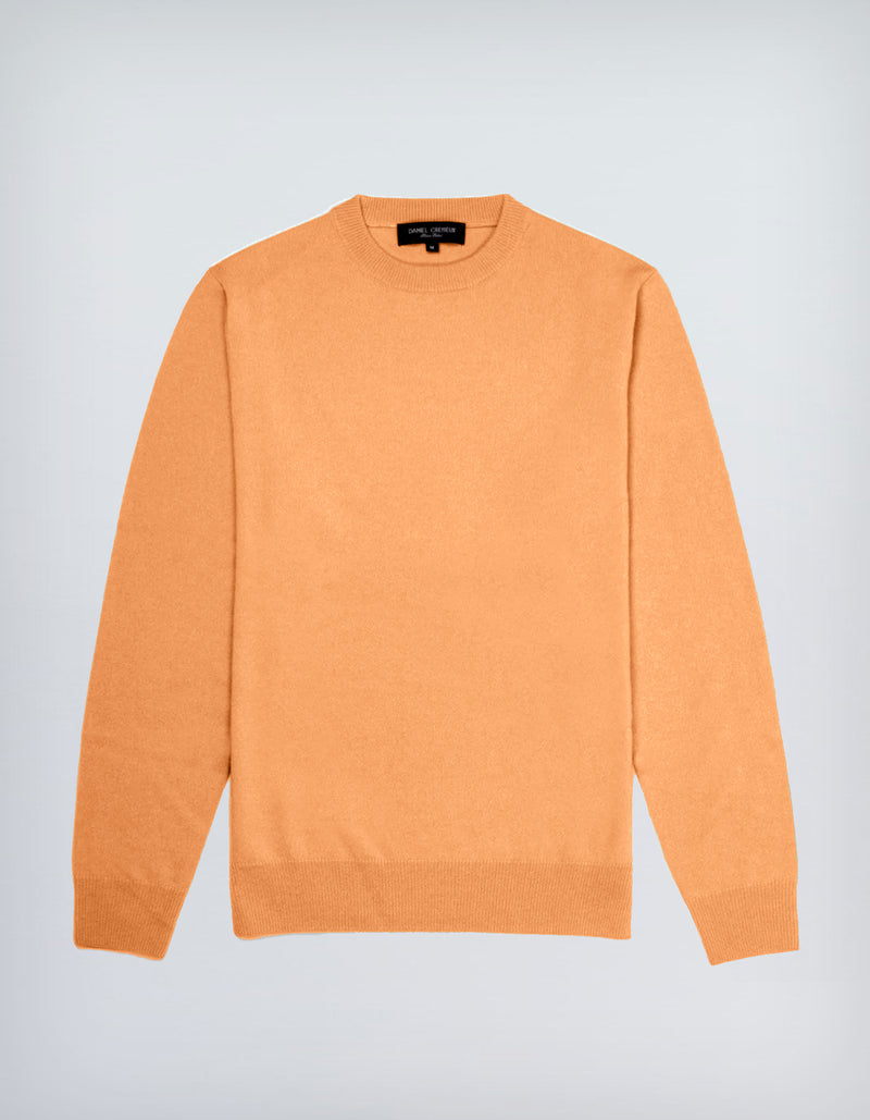 LORO PIANA CASHMERE YARN CREW NECK SWEATER