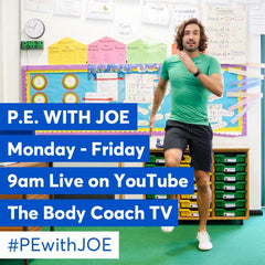 Joe Wicks PE Class for Coronavirus